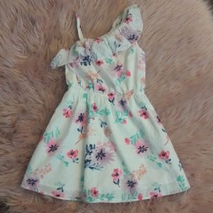 Sonoma Floral One Shoulder Strap Dress